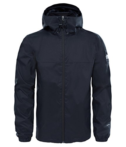 The North Face North Face M Mountain Q Jacket – Jacke, Herren, Schwarz (TNF Black/High Rise Grey)