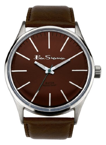 Ben Sherman Gents Watch Orologio da Polso, Analogico, Uomo, Plastica, Marrone