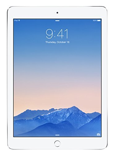 Apple iPad Air 2 MNV62FD/A 24,64 cm (9,7 Zoll) Retina Display Tablet (32 GB, Wi-Fi, iOS 9) silber (Generalüberholt)