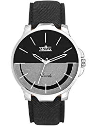 Monax White & Black Dial Analog Watch For Men & Boys - MM106