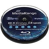 MediaRange MR491 disco blu-ray lectura/escritura (BD) - BD-RE vírgenes (2 x, caja de joyas)