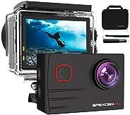 【2020 Nuova 】Apexcam 4K Action Cam Pro 20MP EIS WIFI Fotocamera Impermeabile 40M Sott'acqua Ultra HD Sport