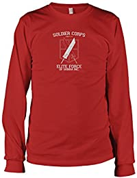 TEXLAB - Soldier Corps Elite Force - Langarm T-Shirt