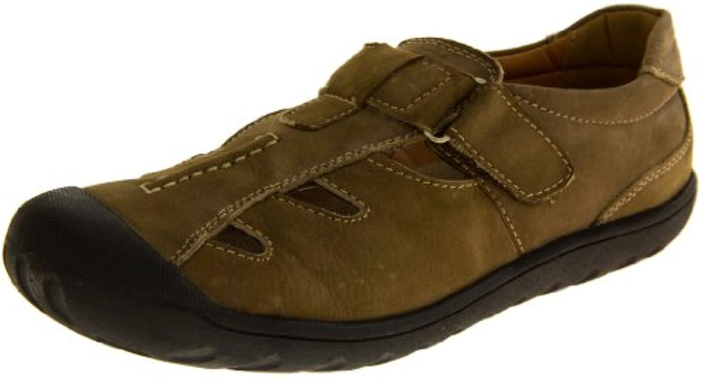 Footwear Studio - Sandalias deportivas de forro: fibra sintética para hombre Multicolor marrón/tostado
