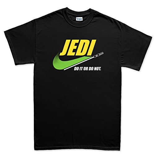 Customised_Perfection Jedi Knight Do it or Do Not Funny T Shirt Tee