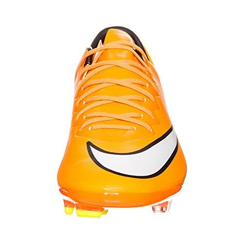 JR MERCURIAL VAPOR X FG ORA - Chaussures Football Garçon Nike Orange
