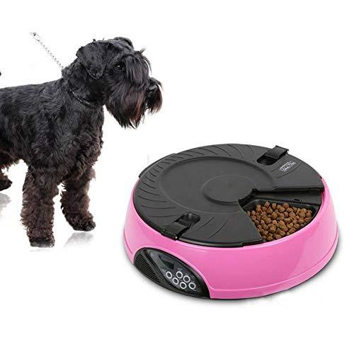 FGDSSE Intelligente automatische Haustier-Zufuhr LCD-Anzeigen-Hundekatzenfutter-Zufuhr-Timing-Recorder-Schüssel-Nahrungsmittelanzeige -