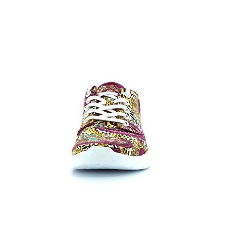 Vans Iso 2 Plus, Baskets Basses Mixte Adulte Multicolore (Leopard/Paisley/Fuchsia)