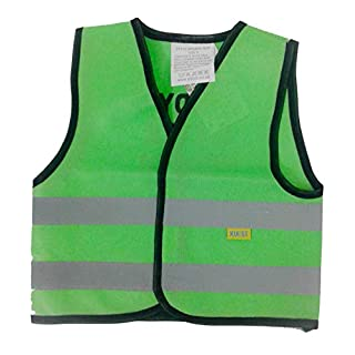 Infant HI VIS Safety Vest - 'Daddy's Little Helper' (Aqua, Small 0-1 Year)