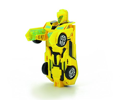 Transformers - Robot Bumblebee, Color Amarillo, 15 cm (Dickie 3113000)