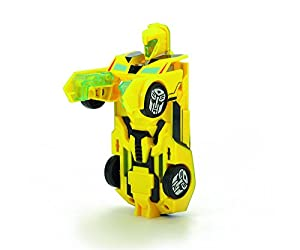 Transformers - Robot Bumblebee, Color Amarillo, 15 cm (Dickie 3113000)