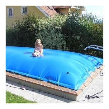 aufblasbare abdeckung rechteck 800 x 400 cm f r pool und schwimmbad garten. Black Bedroom Furniture Sets. Home Design Ideas