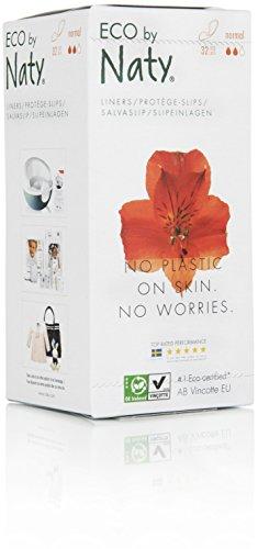 Naty Womencare - Slipeinlagen Normal, 2er Pack (2 x 32 Stück)