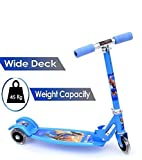 Raawan 3-Wheel Folding Kick Kids Scooty Scooter Tricycle for Indoor & Outdoor Fun