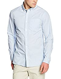 Jack & Jones Premium Jjprdonald Print Shirt L/s Plain, Chemise Casual Homme
