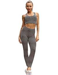 5491531961044 NEEKY Mode Femmes Dot Yoga Set Sports Fitness Gilet Fitness Gym Sport pour  Femme,Chic