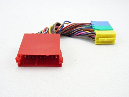 20-PIN Verteiler Adapter Kabel Mini ISO passend für VW NAVI Plus MFD MCD Stecker Mini ISO (M)-Mini-ISO(F) Vw Mini