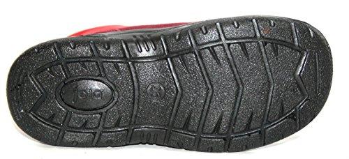 Jela - Chaussures d'Enfants de Fille 61.121 Bottes Souliers Rouge (pourpre/rouge 92)