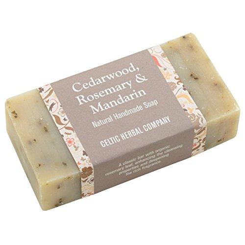 The Celtic Herbal Handmade Soap, Cedar Wood, Rosemary & Mandarin