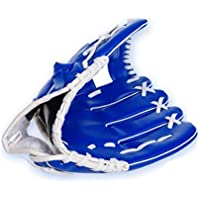 "dersoning guante de mano izquierda para adultos guante Outfield para softball béisbol 10.5""(azul) C"