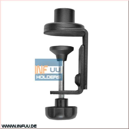 Preisvergleich Produktbild Infuu Holders 017 Tisch-Montage-Adapter für Notebook-Halterung Tischklemme