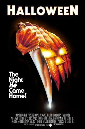 ie Poster 24x36 by Movie Posters R' US (1978-halloween-movie-poster)