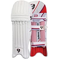 SG League Cricket Batting Leg Guard Pads Mens Size Right and Left (Color May Vary)