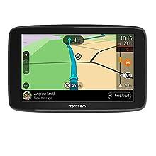 Tomtom Navigatore Satellitare per Auto GO Basic, Traffico, Tutor e Autovelox di Prova, Mappe Europa, Aggiornamenti Tramite WiFi, Supporto Reversibile Integrato, 6 Pollici