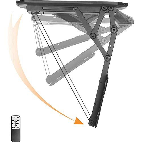 Speaka TV-Deckenhalterung 58,4 cm (23) - 139,7 cm (55) Neigbar, Motorisiert Professional Mit Fernbedienung, Ausziehbar