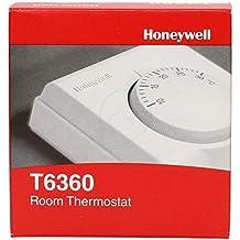 Honeywell T6360A1079 - Termostato Analógico De Ambiente 230V, Spdt, T/N, 10