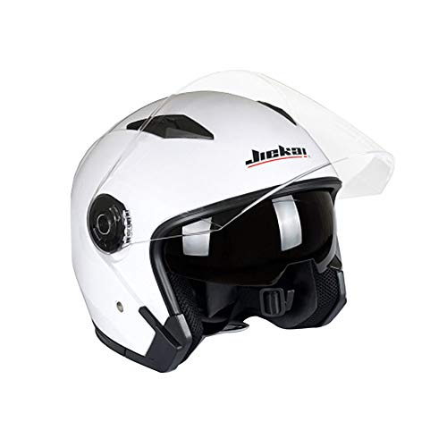 Folconauto Casco de Moto Scooter