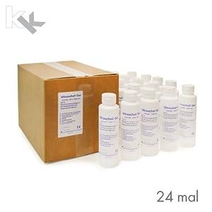 Ultraschallgel KK Kontaktgel Sonogel 24 x 250 ml Flasche
