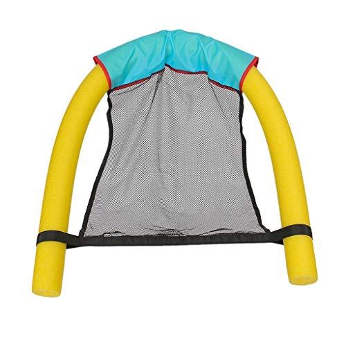 JINBRAND Schwimmender Stuhl, Schwimmausrüstung Spielzeug Schwimmendes Bett Lounge-Sessel Wasserversorgung Schweben Kickboard (Color : Green, Size : 75 * 150CM) -