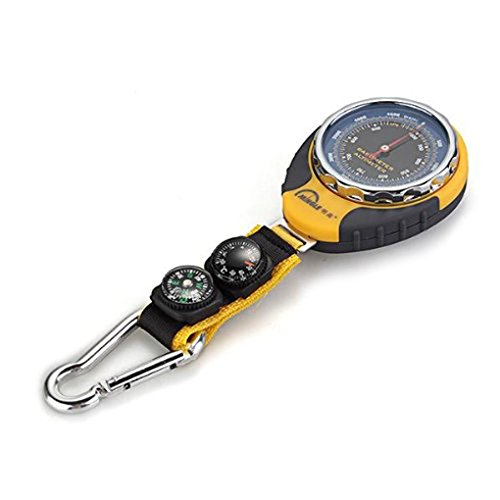 Botetrade 4in1 Pocket Compass Altimeter Barometer Thermometer For Outdoor Sports