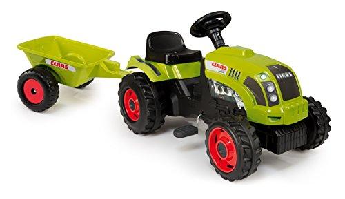 Smoby-Tractor-CLAAS-with-trailer-juguetes-de-montar