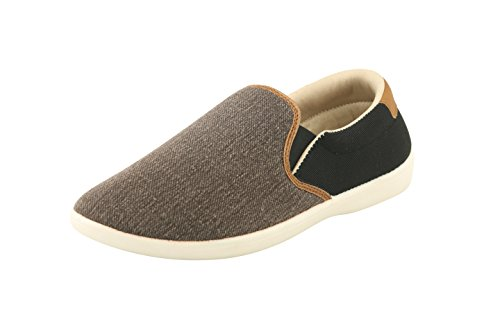Bacca Bucci Men Brown Canvas Casual Shoes 7 Uk