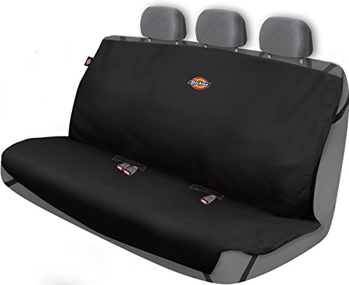 Dickies 3000721 Heavy Duty Rear Bench Seat Protector, Black Dickies-cover