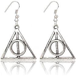 Pendientes Harry & Potter Reliquias de la Muerte