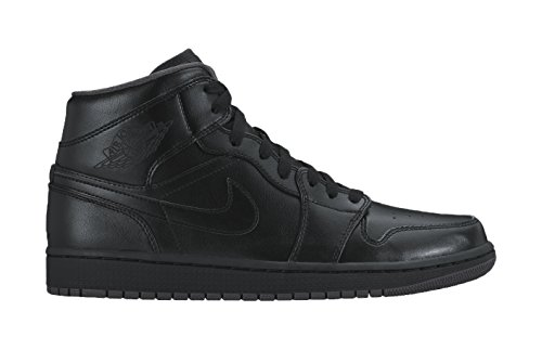 nike-mens-air-jordan-1-mid-hi-top-sneakers-black-black-dark-grey-black-10-uk