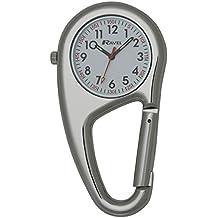 Ravel - Moschettone con orologio, analogico al quarzo, acciaio INOX