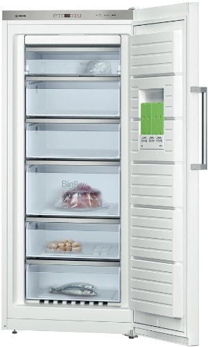 Bosch GSN51OW40 Upright Freestanding White A+++ 286L - freezers (freestanding, Upright, Right, A+++, White, 4*)