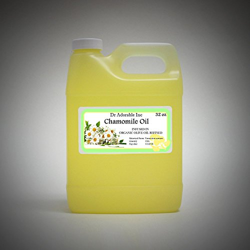 Organic Chamomile Herbal Oil 100% Pure Natural 32 Oz / 1 Quart