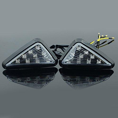Vollter 2Pcs Motorrad Auto Blinker LED Retrofit Lampe der Signalanzeigelampe drehen