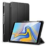 ESR Cover per Galaxy Tab A 10.5(2018), Smart Case Leggera Supporto Ripiegabile con Funzione Auto Sleep/Wake, Fodera in Microfibra, Custodia Rigida per Tablet Samsung Galaxy Tab A 10.5 Pollici(Nero)
