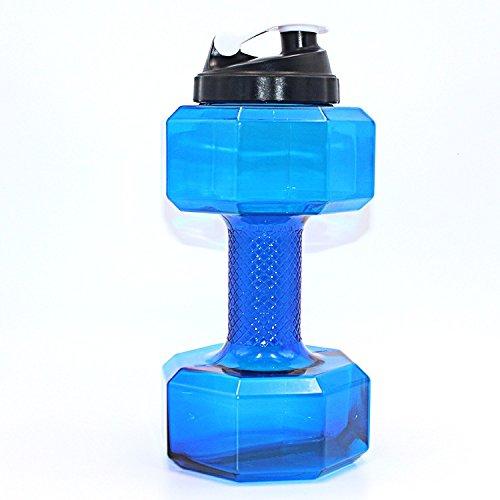 Fitastic Hercules Dumbbell Water Shaker Bottle, 2.2 Litre (Gallon)