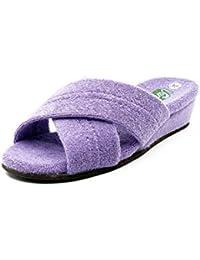 Glerups - Zapatillas de estar por casa de Fieltro para mujer Morado violeta, color Morado, talla 43