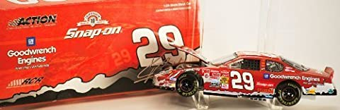 2003 - Action / NASCAR - Kevin Harvick #29 - Snap-On / GM Goodwrench - Chevrolet Monte Carlo Club Car Bank - #1200 of 1200 Produced - Very Rare - Limited Edition -