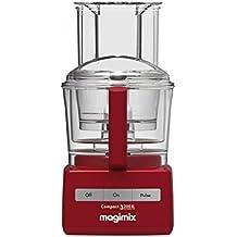 Magimix compact 3200 xl rosso con spremiagrumi ed accessori