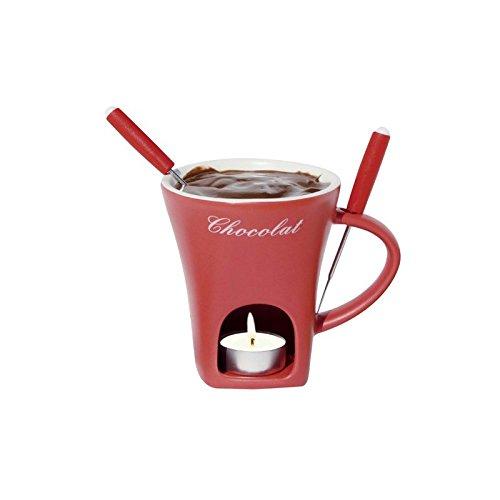 Schokoladenfondue-Tasse - Rot