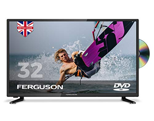 Ferguson 32� Freeview T2 HD TV with Built-in DVD Player